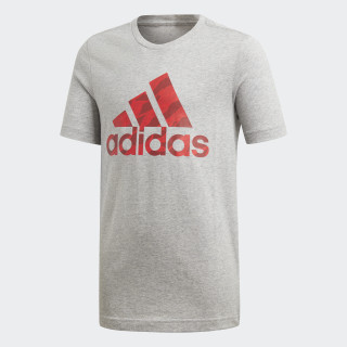 Badge of Sport T-Shirt Medium Grey Heather DI0365
