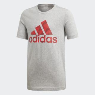 Camiseta Badge of Sport Medium Grey Heather DI0365