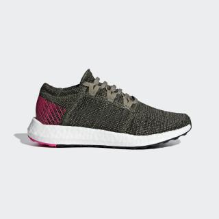 Pureboost Go Shoes Base Green / Steel / Shock Pink B42327