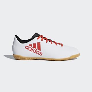 Chuteira X 17.4 Futsal Infantil GREY/REAL CORAL S18/CORE BLACK CP9053