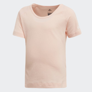 Playera Cotton HAZE CORAL/WHITE DJ1524