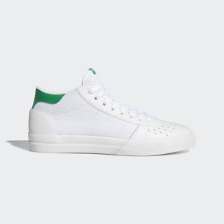 Lucas Premiere Mid Shoes Cloud White / Cloud White / Green B22742