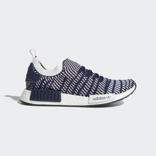 NMD_R1 STLT Primeknit Shoes Collegiate Navy / Cloud White / Collegiate Red D96821