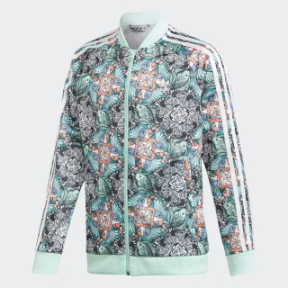 TRACK TOP J ZOO SST MULTICOLOR/CLEAR MINT/WHITE D98902