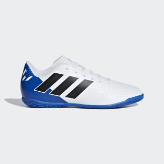 Chimpunes Messi Tango 18.4 Bajo Techo Niño FTWR WHITE/CORE BLACK/FOOTBALL BLUE DB2398