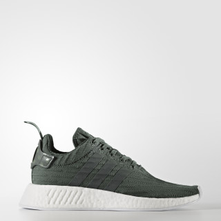 NMD_R2 Shoes Utility Ivy / Cloud White / Trace Green BA7261