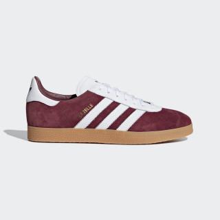 Gazelle Shoes Collegiate Burgundy / Cloud White / Cloud White AQ0878