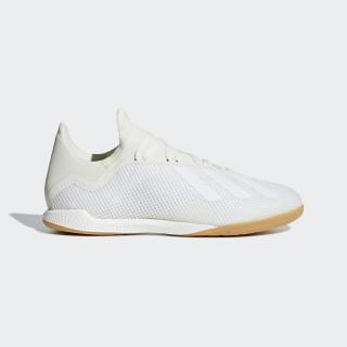 X Tango 18.3 Indoor Shoes Off White / Cloud White / Gold Metallic DB2439