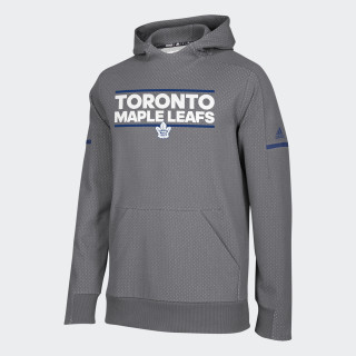 Maple Leafs Squad Pullover Hoodie Multi / Dark Grey Heather / Blue D78423