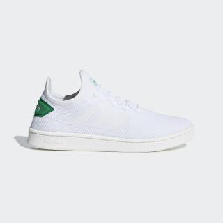 Zapatilla Court Adapt Ftwr White / Ftwr White / Green F36417