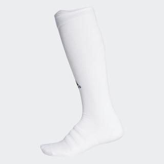 Alphaskin Lichtgewicht Gevoerde Lange Compressiesokken White / White CV7699