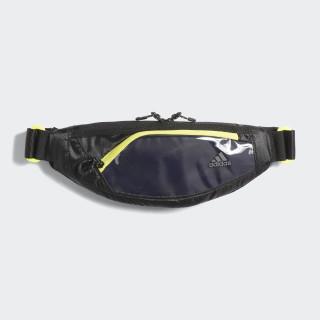Run Waist Bag Black / Shock Yellow DM3272