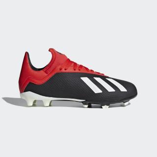 Zapatos de Fútbol X 18.3 FG J Core Black / Off White / Grey Four BB9370