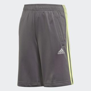 Football 3-Stripes Shorts Grey Five / Solar Yellow DJ1258