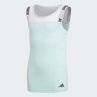 Camiseta sin Mangas ID CLEAR MINT/WHITE DJ1386