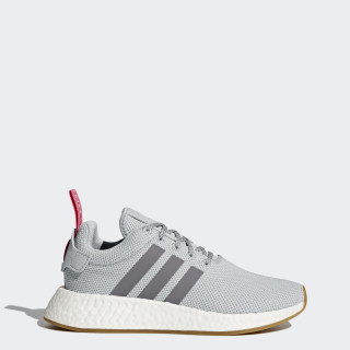 NMD_R2 Shoes Grey / Grey / Shock Pink BY9317