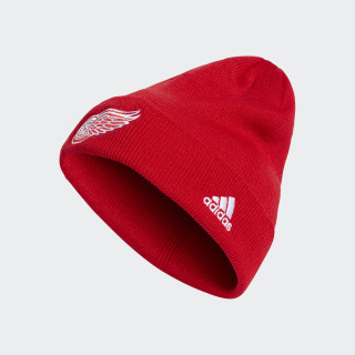 Red Wings Cuffed Beanie Red CP7856
