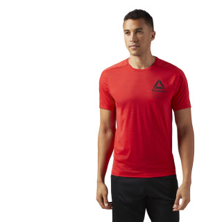 ACTIVCHILL Graphic Move T-Shirt Primal Red CF3749