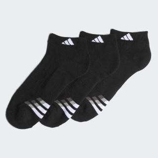 Cushioned Low Socks 3 Pairs Black / White / Light Onix H77463