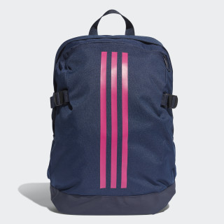 3-Stripes Power Rugzak Medium Collegiate Navy / Real Magenta / Real Magenta DM7682