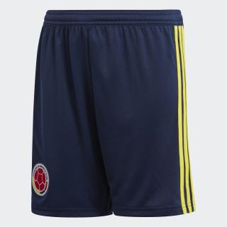 Pantalón corto primera equipación Colombia Collegiate Navy/Bright Yellow BR3503