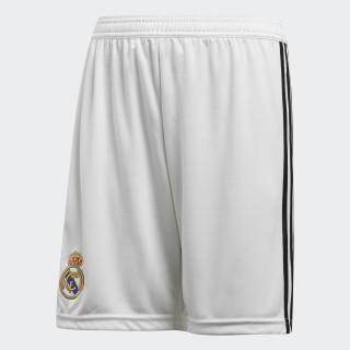 Shorts de Local Real Madrid Réplica CORE WHITE/BLACK CG0549