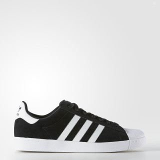 Superstar Vulc ADV Shoes Core Black / Cloud White / Gold Metallic F37461