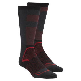 Chaussettes montantes Reebok CrossFit Black / Primal Red CD7289