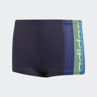 Graphic Swim Boxers Noble Ink / Shock Lime DH2174