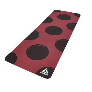 """Yoga Mat (POE) - """"Shut Up You're Awesome"""" Red CK1132"""