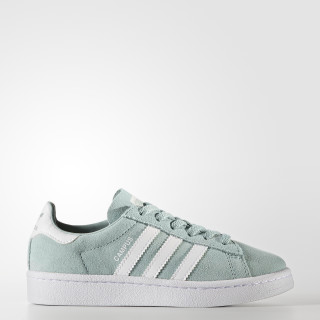 Campus Shoes Tactile Green/Footwear White/Footwear White BY9592