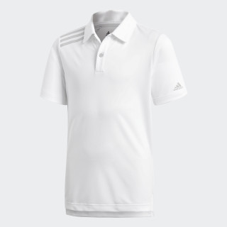 3-Stripes Tournament Polo Shirt White CE3161