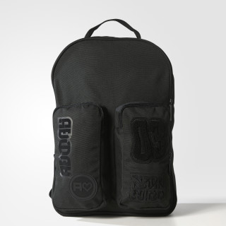 Badges Classic Rucksack Black BQ8126