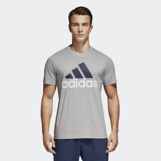 Essentials Linear Tee Medium Grey Heather S98738