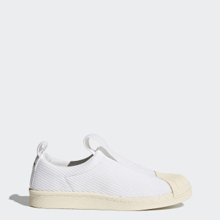 Superstar BW Slip-on Shoes Footwear White/Footwear White/Off White BY2949