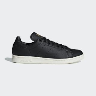 Stan Smith Premium Schuh Core Black / Core Black / Gold Met. B37901