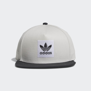 Gorra Two-Tone Trefoil Snapback GREY ONE F17/CARBON S18 CE2612