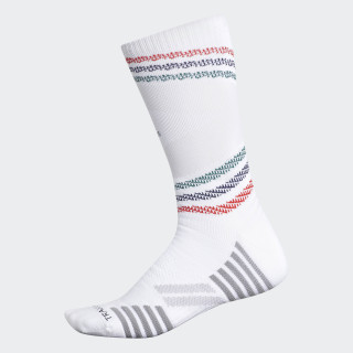 Speed Mesh Team Crew Socks White CK6301