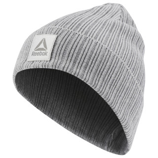 Active Foundation Logo Beanie Medium Grey Heather CZ9837