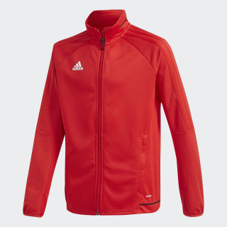 Tiro17 Training Jacket Scarlet/Black/White BQ2715