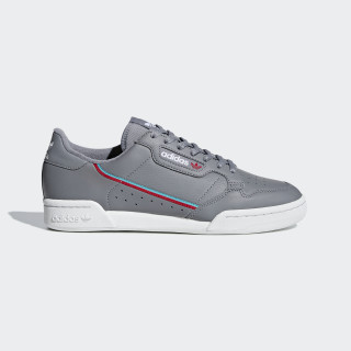 Continental 80 Shoes Grey Three / Hi-Res Aqua / Scarlet B41671