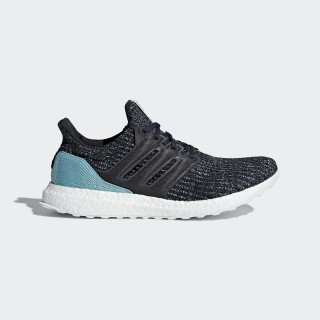 Ultraboost Parley Shoes Carbon / Carbon / Blue Spirit CG3673