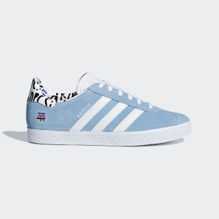 Gazelle Shoes Clear Blue / Ftwr White / Clear Blue B37213
