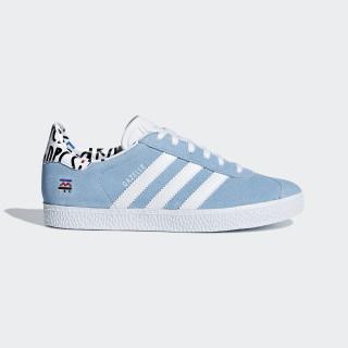 Gazelle sko Clear Blue / Ftwr White / Clear Blue B37213