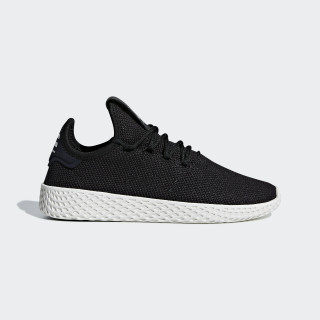 Zapatilla Pharrell Williams Tennis Hu Core Black / Core Black / Chalk White BD7768