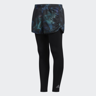 2-in-1 Shorts and 7/8 Tights Aqua / Black CK5357