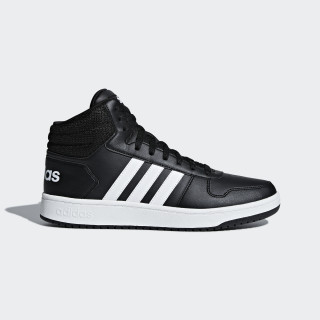 VS Hoops Mid 2.0 Schuh Core Black / Ftwr White / Core Black BB7207