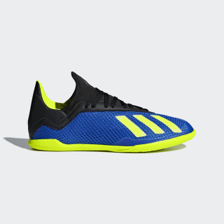X Tango 18.3 Indoor Shoes Football Blue / Solar Yellow / Core Black DB2425