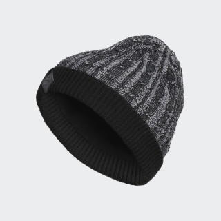 Cable-Knit Mütze Black CZ8908