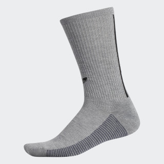 3-Stripes Crew Socks Medium Grey Heather CJ3873
